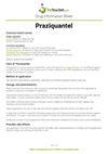 Praziquantel drug information sheet