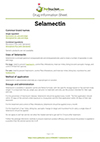 Selamectin drug information sheet