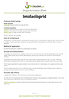 Imidacloprid drug information sheet