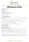 Milbemycin Oxime drug information sheet
